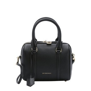 Burberry Leather 'Alchester' Small Convertible Bowling Bag