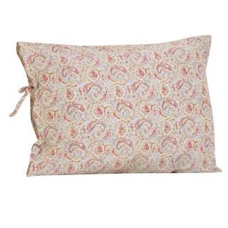 Tea Party Plain Pillowcase with Ties