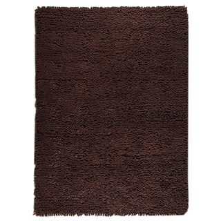 M.A.Trading Hand-woven Indo Berber Brown Rug (3' x 5'4)