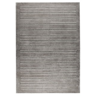 M.A.Trading Hand-knotted Indo Chicago Grey Rug (3' x 5'4)