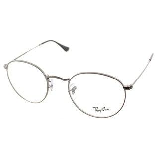 Ray-Ban RX 3447V 2620 Round Matte Gunmetal Metal Eyeglasses 47mm