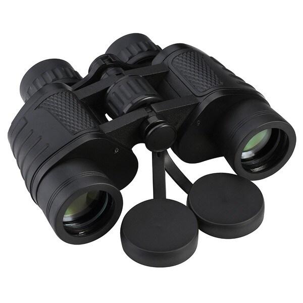 Mini Compact BAK4 Black 8 x 35-inch Prism Binoculars