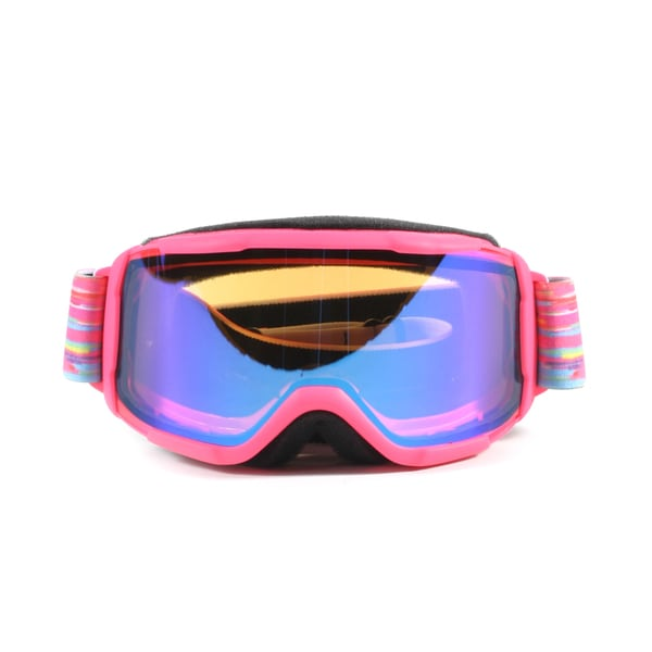 Smith Daredevil Youth Fit Medium Blue Sensor Mirror Snowboard Goggles