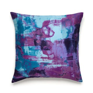 Amy Sia Midnight Storm Oceans Decorative Pillow