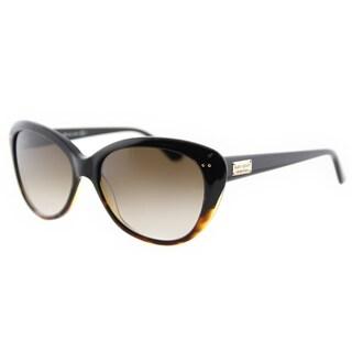 Kate Spade KS Angelique EUT Tortoise Fade Plastic Cat-Eye Sunglasses Brown Gradient Lens