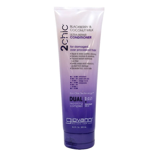 Giovanni 2Chic Ultra Repair Blackberry and Coconut Milk 8.5-ounce Conditioner