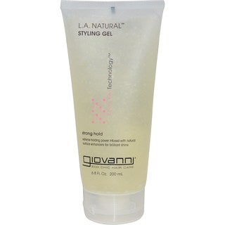 Giovanni L. A. Natural 6. 8-ounce Extra-Hold Styling Gel