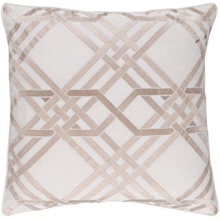 Decorative Eilat 22-inch Down or Poly Filled Throw Pillow