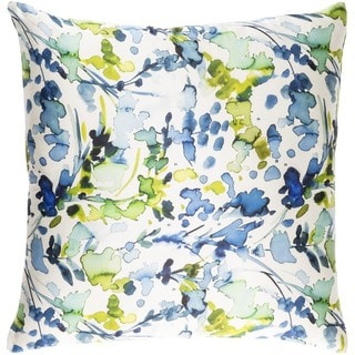Decorative Frankie 22-inch Down or Poly Filled Throw Pillow