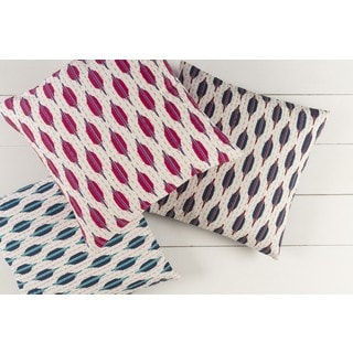 Decorative Dreketi 18-inch Down or Poly Filled Throw Pillow