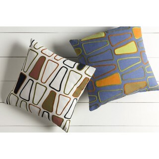 Decorative Cleo 22-inch Down or Poly Filled Throw Pillow