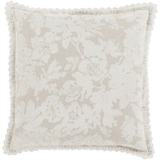 Decorative Charleigh 22-inch Down or Poly Filled Throw Pillow