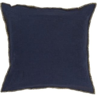 Decorative Cartag 22-inch Down or Poly Filled Throw Pillow
