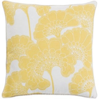 Decorative Cowes 20-inch Down or Poly Filled Throw Pillow