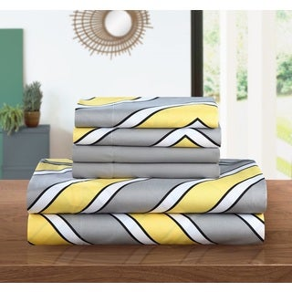 Chic Home 6-Piece Asher Sheet Set