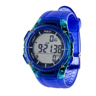 RBX Blue Multi-Function Activity Tracker Pedomter Digital Watch