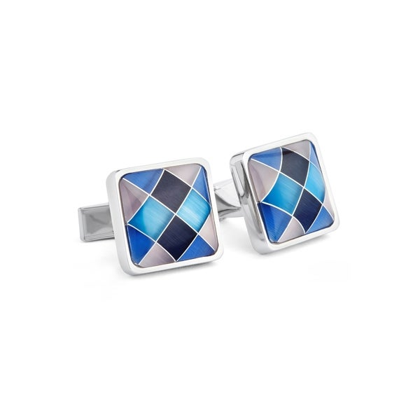 Multi Cats Eye Cuff Links