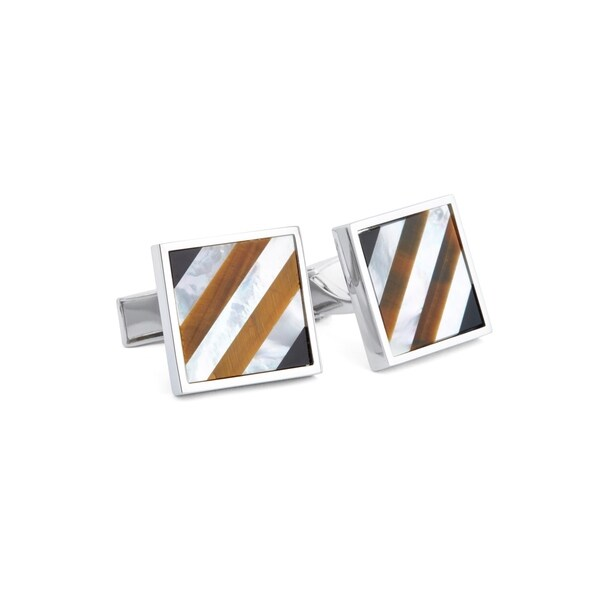 Shades of Brown Cuff Links