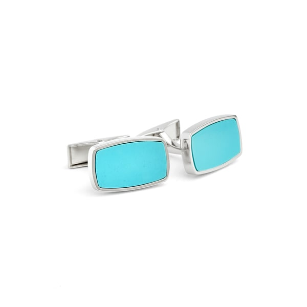 Sea Blue Cuff Links