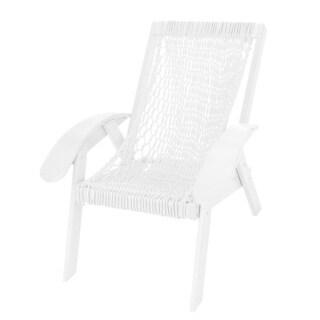 Coastal Duracord White Chair
