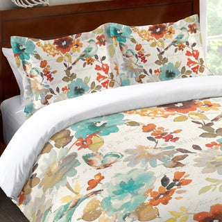 Laural Home Nature's Garden Standard Pillow Sham