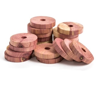 Red Cedar Wood Rings (12 Pack)