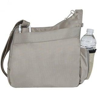 Travelon Anti-Theft Classic Messenger Style Crossbody Messenger Bag