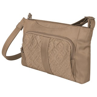 Travelon Anti-Theft Signature East/West Slim Shoulder Bag