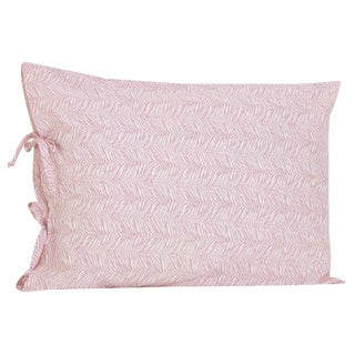 Girly Cotton Pillowcase with Ties