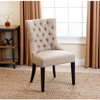 Abbyson Living Tivoli Tufted Upholstered Dining Chair