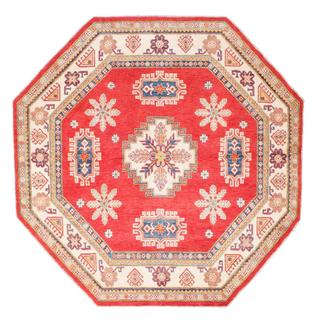 Ecarpetgallery Hand-knotted Finest Gazni Red Wool Rug (8'1 x 8'1)
