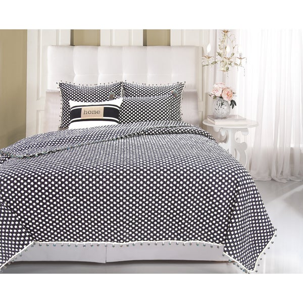 Pom Pom Chic 3-piece Quilt Set