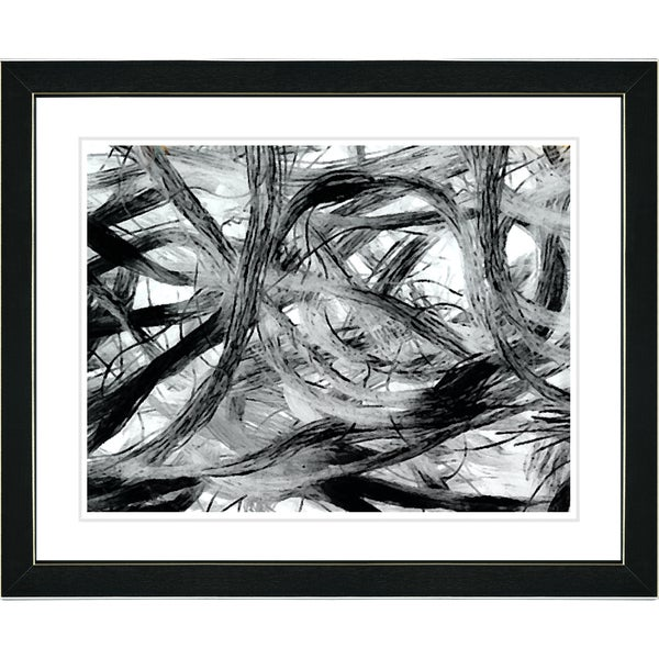 Studio Works Modern 'Loose Ends' Framed Fine Art Print