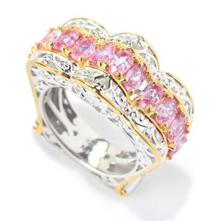Michael Valitutti Pink Sapphire Ring