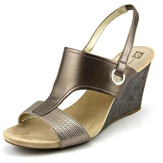 Anne Klein Women's 'Leni' Synthetic Sandals