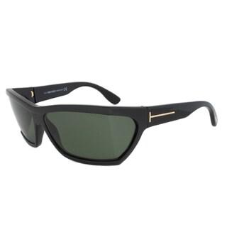 Tom Ford FT0401 01N Sasha Rectangular Sunglasses