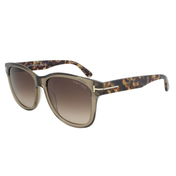 Tom Ford FT0395 34K Cooper Rectangular Sunglasses