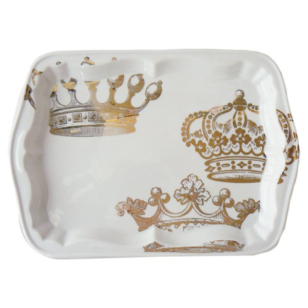 King's Crown Gold Tray