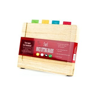 Color Coded Cutting Board Set (5 pieces)
