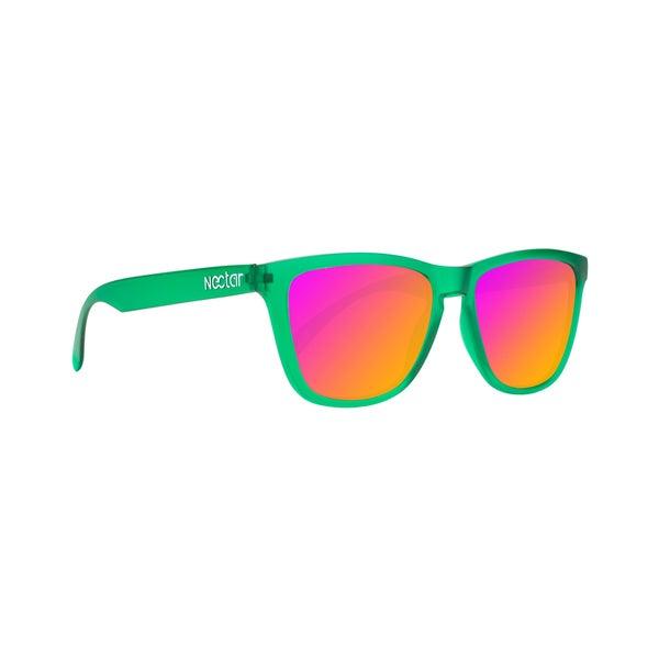 Absinthe Sunglasses Green Frame Sunburn Lens