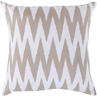 Decorative Snodland 22-inch Chevron Pillow Cover
