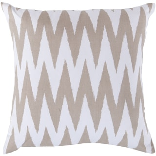 Decorative Snodland 18-inch Chevron Pillow Cover
