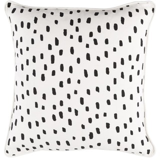 Decorative 18-inch East Down or Polyester Filled Throw Pillow