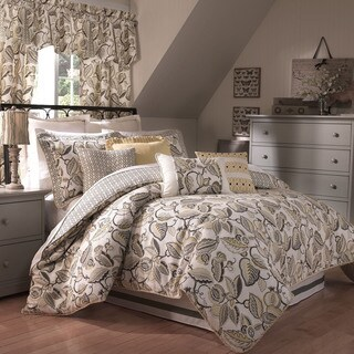 Waverly Fantasy Fleur 4-piece Comforter Set