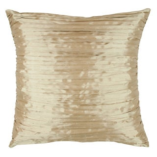 Austin Horn En Vouge Glamour Quartz 18-inch Fortuny Gold Throw Pillow