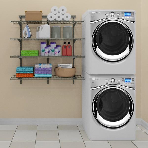 ClosetMaid 4 Shelf Wire Shelving Unit 17941783
