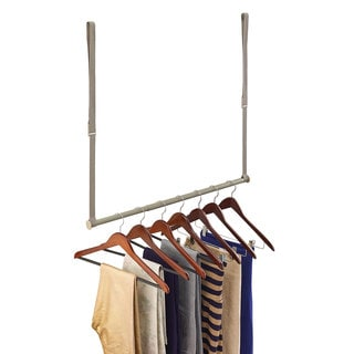 Nickel Double Hang Closet Rod