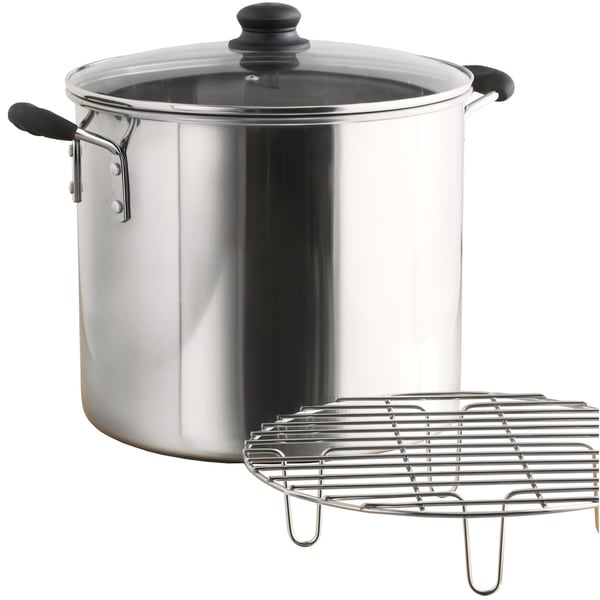IMUSA Global Kitchen GKA-61014 8-quart Steamer Stainless Steel