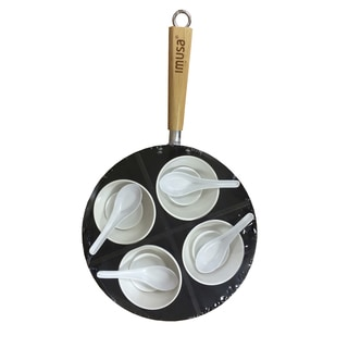 IMUSA Global Kitchen GK-61027 13 Piece Coated Asian Wok Set