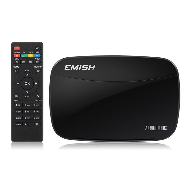 VicTsing Black Quad Core Android Smart TV with Media Player 17944380